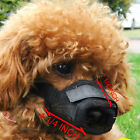 Adjustable Nylon Mesh Dog Grooming No Bark Bite Muzzle Mask S M L XL Any Size