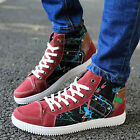 Stylish Fashion Men's Korean Version Casual Canvas High Top Skater Sneaker Shoes