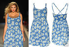 New Women Ladies Girls Beautiful Strappy Floral Summer Holiday Party Dress
