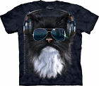 Cool Cat Adult  Animals Unisex T Shirt The Mountain