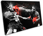 Mike Tyson Boxer SPORT   Sports SINGLE CANVAS WALL ART Picture Print VA
