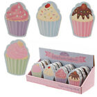 Ladies Girls Cupcake Emery Board Nail File Gifts
