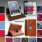 PU Leather Case Cover Stand For iPad MINI 1 and 2 w/ Retina Display +Accessories