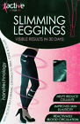 NEW Anti-Cellulite Calorie Burning Slimming Leggings RESULTS IN 30 DAYS BLACK