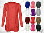 ***Women Ladies & Girls Long Sleeve Boyfriend Cardigans Top True UK Size 8-14***