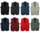 k Mens 9 pockets fishing shooting work vest safari travel waistcoat photo jacket