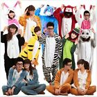 Hot Unisex Adult Pajamas Kigurumi Cosplay Costume Animal Onesie Sleepwear Suit