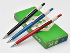 MITSUBISHI M-9 BLACK BLUE RED 0.9MM AUTOMATIC MECHANICAL PENCIL 1960S