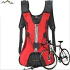 Cycling hydration back pack bag with water bladder hiking bicycle MTB bike Bag