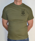 SAS,UK,BRITISH SPECIAL FORCES, ARMY, MILITARY,AIRSOFT, COMBAT ,T-SHIRT