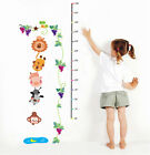 Eco-friendly Reusable Decorative Kids Height Measurement Wall Stickers UK