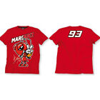 Marc Marquez 93 The Ant Cartoon Moto GP Kids T-shirt Red Official New