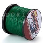 Power Spider 100M-2000M 10LB-300LB Moss Green Dyneema PE Braided Fishing line