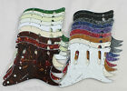 SCRATCH PLATE Pickguard to fit USA/Mex STRATOCASTER Strat in 18 Colours