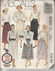 McCall's 4060-Woman's Skirts Vtg 80's Sewing Pattern UNCUT