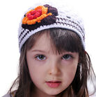 Beautiful Girls Crocheted Hats, Beanies, Newsboy with Flowers, Baby to Age 8