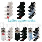 6 PAIRS OF LADIES/GIRLS ACTIVE TRAINER SPORT SOCK LINER SUMMER DESIGN IN COTTON