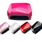 LED CCFL Nail Dryer Diamond Shaped Best Curing Lamp Machine Set for Nail Art 36W