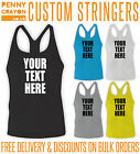 PERSONALISED PRINTED STRINGER VEST - CUSTOM DESIGN