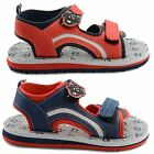 NEW GIRLS BOYS UNISEX DE FONSECA SKULL VELCRO STRAP SLIP ON SANDALS UK 10-2.5