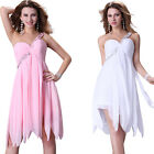 New Stock One Shoulder Short Mini Cocktail Party  Evening Bridesmaid Prom Dress