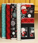 Christmas Chalkboard Snowman Plaid Floral Berries SOLD SEPARATELY PRICE REDUCED