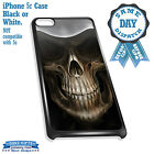 Cover for iPhone 5c Case #151 Skull Scary Gift Idea Grim Reaper Goth Fantasy
