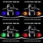 Dragon Logo LED Projector Ghost Shadow Laser Car Door Step Welcome Light Lamp