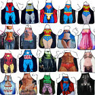 BBQ Cooking Apron Superman Darth Vader Novelty Funny Joke Sexy Women Men Cosplay