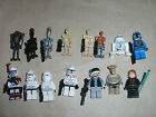 USED LEGO STAR WARS MINIFIGURES - EP 1 2 3 4 5 6 REBELS EMPIRE CLONES DROID
