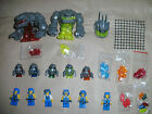 USED LEGO ATLANTIS POWER MINERS MINIFIGS ROCK MONSTER KEYS POWER CRYSTALS SPARES