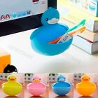 Cute Plastic Suction Cup Bathroom Accessory Shower Soap Toothbrush Dish Holder