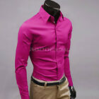New Fashion Luxury Mens Formal Casual Suits Slim Fit Dress Shirts 17 Colours New without tags