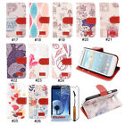 PU Leather Wallet Card Holder Stand Flip Case Cover For Samsung Galaxy S3 i9300