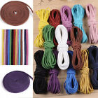 10Ya 2x1mm Leather Cord Suede Lace Velvet Thread Bracelet Necklace Findings DIY