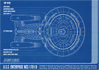 Star Trek Enterprise Blueprints Poster - A1, A2, A3, A4 sizes on eBay