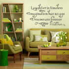 FAMOUS MOTTO QUOTE WORDS KITCHEN ROOM HOME ART WALL STICKERS DECALS MURAL DECOR