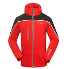 NWT Mens Windproof Cotton Lined Hooded Outdoor Hiking Ski Snow Golf Jacket Coats