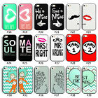 Love Couple Hard Back Case Cover For iPhone 4 4S 5 5S 6/Plus Samsung Galaxy S4
