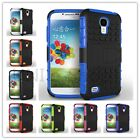 Dual Layer Hybrid Rugged KickStand Heavy Duty Case Cover For Samsung Galaxy S4