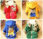 Kids Baby Toddler Boys Girls 3D Animal Bear Winter Hoodies Coat Jacket Outwear