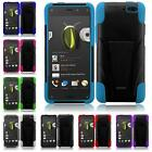 For AMAZON FIRE PHONE Hybrid Armor T-STAND Cover Case + LCD Screen Guard