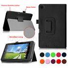 Folio Leather Stand Case Slim Fit Cover for Acer Iconia One 7 B1-730HD Tablet
