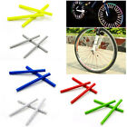 6 Color Riding Bike Bicycle Wheel Spoke Reflector Reflective Clip Warning Strips