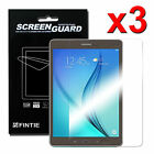 3x High Definition (HD) Clear Premium Screen Protector for Samsung Galaxy Tablet