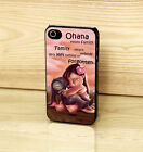 Disney Lilo And Stitch Ohana Quote Case Cover for iPhone & Samsung Phones