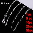 New Wholesale Xmas Gift Solid Silver Chain Necklace B925+ Gift Box