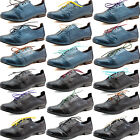 Womens Oxford Flat Casual Slip On Cambridge Heel Round Toe Colorful Shoe Lace