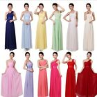 New Long MAXI Bridesmaid Formal Evening Gowns Ball Cocktail Party Prom Dress