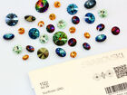 Genuine SWAROVSKI 1122 Rivoli Round Crystals Foiled * Many Colors & Sizes